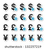 currency icons set   dollar ...