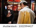 portrait of restaurant security ...   Shutterstock . vector #1322594417