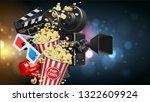 illustration for the film... | Shutterstock .eps vector #1322609924