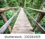 Beautiful Old Wooden Footbridg...