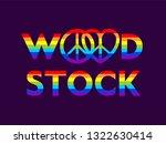 woodstock colorful lettering... | Shutterstock .eps vector #1322630414