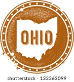 badge,classic,cleveland ohio,columbus ohio,gear,great lakes,grunge,icon,map,midwest,ohio,outline,retro,seal,state