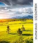 splendid iceland landscape with ... | Shutterstock . vector #1322639804