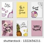 vector illustration. set of...   Shutterstock .eps vector #1322656211