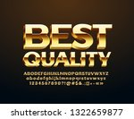 vector best quality sign for... | Shutterstock .eps vector #1322659877