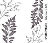 pattern plants and herbs... | Shutterstock .eps vector #1322673521