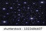 bright starry background   Shutterstock . vector #1322686607