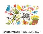 seasonal horizontal banner...   Shutterstock .eps vector #1322690567