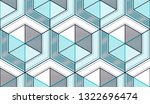 geometric cubes abstract... | Shutterstock .eps vector #1322696474