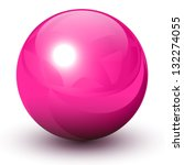 Pink Glossy Sphere