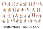 office exercise set. body... | Shutterstock .eps vector #1322775377