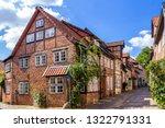 historical city of lueneburg ... | Shutterstock . vector #1322791331