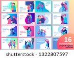 vector people character.... | Shutterstock .eps vector #1322807597