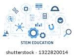 stem concept. science ...   Shutterstock .eps vector #1322820014