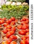 Display Of Fresh Organic Local...