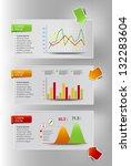 infographic presentation...   Shutterstock .eps vector #132283604