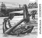sailing. vector illustration | Shutterstock .eps vector #132285095