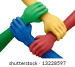 connected multicolored... | Shutterstock . vector #13228597