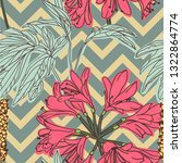 floral background. seamless... | Shutterstock .eps vector #1322864774