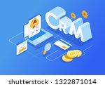 isometric customer relationship ...   Shutterstock .eps vector #1322871014