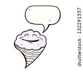 cartoon happy cloud   Shutterstock . vector #132291557