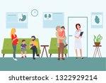 vector  flat illustation... | Shutterstock .eps vector #1322929214