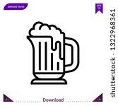 beer icon vector . best modern  ...