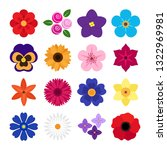 vector collection of colorful...   Shutterstock .eps vector #1322969981