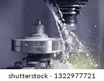 spindle chuck and installed... | Shutterstock . vector #1322977721
