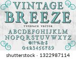 font typeface vector alphabet...   Shutterstock .eps vector #1322987114