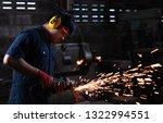 mechanical engineer worker... | Shutterstock . vector #1322994551