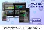 trading platform. financial...