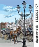 View On Grote Markt Square In...