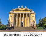 basilica in eger  hungary   Shutterstock . vector #1323072047