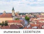 panorama of eger  hungary   Shutterstock . vector #1323076154