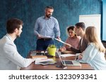 human resource manager training ... | Shutterstock . vector #1323093341