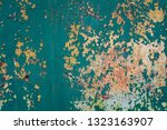 the surface texture with old...   Shutterstock . vector #1323163907