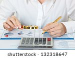 accounting. | Shutterstock . vector #132318647