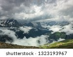 summer mountains green grass... | Shutterstock . vector #1323193967