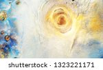 colorful sparkling paints mix... | Shutterstock . vector #1323221171