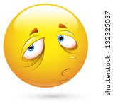 smiley vector illustration  ... | Shutterstock .eps vector #132325037