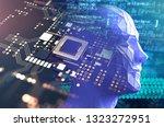 3d illustration of robotic... | Shutterstock . vector #1323272951