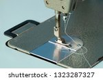 sewing machine close up  ... | Shutterstock . vector #1323287327