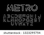 font logo. modern design vector ...   Shutterstock .eps vector #1323295754