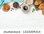 coffee  croissants  cinnamon...   Shutterstock . vector #1323309314