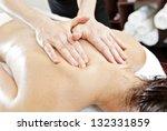 ayurverdic massage therapy | Shutterstock . vector #132331859