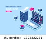search engine optimization seo... | Shutterstock .eps vector #1323332291