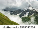 summer mountains green grass... | Shutterstock . vector #1323338984
