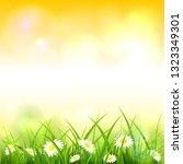 spring or summer nature.... | Shutterstock . vector #1323349301