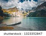 idyllic panorama view of the... | Shutterstock . vector #1323352847
